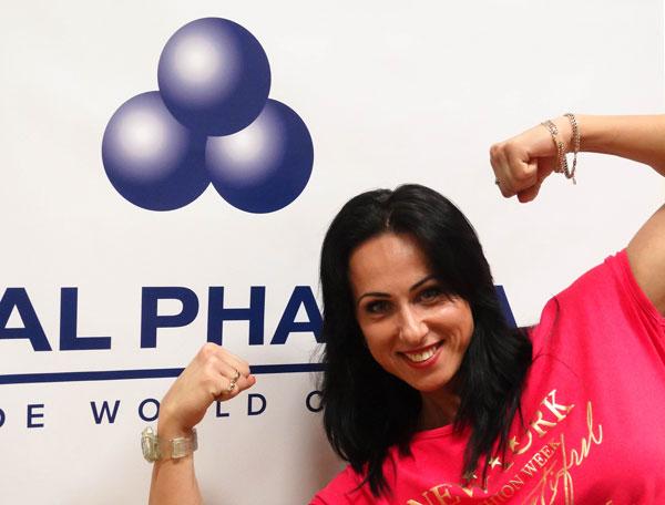 Вице-чемпионка мира и Европы по бодифитнесу — Гошко Л. Н.